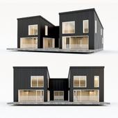 Двухэтажный жилой дом. Сборный дом. 6