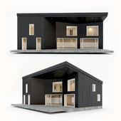 Двухэтажный жилой дом. Сборный дом. 7