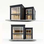 Двухэтажный жилой дом. Сборный дом. 10