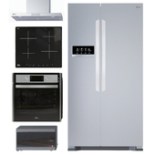 Collection of kitchen appliances LG
