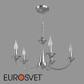 ОМ Подвесная люстра с хрусталем Eurosvet 60096/5 Garda