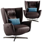 Natuzzi Tulip armchair