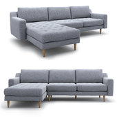 Corner sofa Modsy for 3 seat by Normod