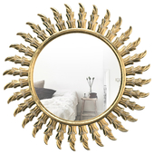 Chambord Sun Modern & Contemporary Accent Mirror ROSP6320