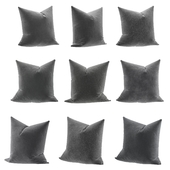 Pillows black