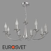 OM Crystal pendant chandelier Eurosvet 60096/8 Garda