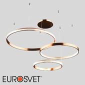 OM Pendant LED Eurosvet 90175/3 Copper Posh