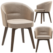 Minotti amelie dining chair