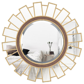 Meyerson Sun-Ray Accent Mirror SBNQ1097