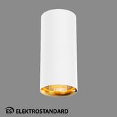 ОМ Потолочный светодиодный светильник Elektrostandard DLR030 12W 4200K белый