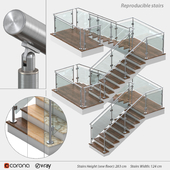 Reproducible stairs