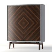 Artemest Bagutta Wood High Cupboard