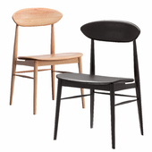Lotus Timber Seat Dining Chair in Oak Wood