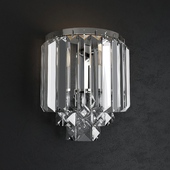 Crystal sconce Eurosvet Torreta 10105/2