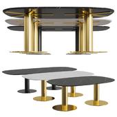 GUBI 2.0 Dining Table Eliptical