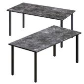 Grigio Grey marble dining table