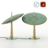 Max Ingrand Fontana Arte Disco Table Lamp