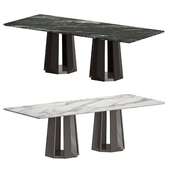 Grigio Marble dining table