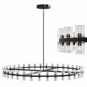 Restoration Hardware ARCACHON ROUND CHANDELIER 60 Black