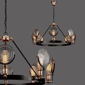 Industrial Bar chandelier