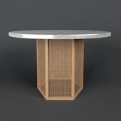 Atrium Dining Table by Cb2