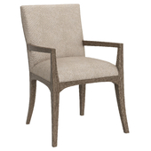 Dining chair Fusion Arm Chair Caracole with armrests