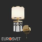 ОМ Классическое бра с абажуром Eurosvet 10099/1 золото Zaffiro