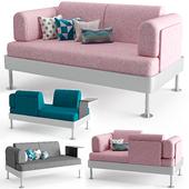 Delaktig 2 pers Sofa
