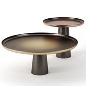 SUNRISE & SUNSET tables by De Castelli