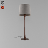 beside lamp
