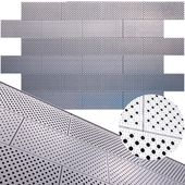 perforated metal panel N25