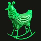Курица - качалка