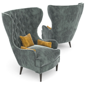 Souvereign Tufted Wing Chair