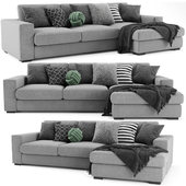 BoConcept Cenova Chaise Longue Sofa
