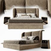 Кровать Vittoria Frigerio Appiani, тумба Contarini