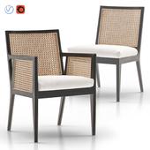 Lisbon Cane Dining Chair and Armchair
