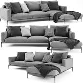Flexform Romeo Sectional Sofa