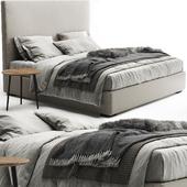 Meridiani Bardo Due Bed