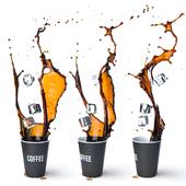 Ice Coffee Splash