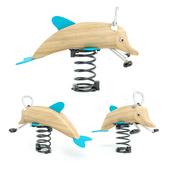 Пружинная качалка Дельфин Kompan
