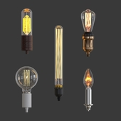 Набор ламп 4