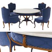 Стол и стулья ANNIBALE COLOMBO TODAY
