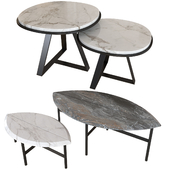 Set coffee table 003. BOOK ONE & TWO. Meridiani JUDD