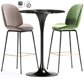 Gucci Bar Stool And Table