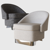 lawson lounge armchair minotti