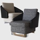 lawson medium armchair minotti