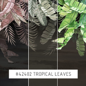 Creativille | Wallpapers | 42402 Tropical leaves