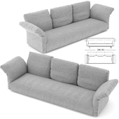 Edra Essential Sofa