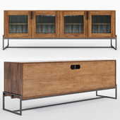 Article_Oscuro Walnut 73 inch Cabinet