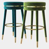 bar stool parisian eichholtz